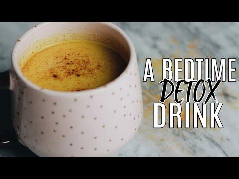 My Golden Milk Recipe: The Best Bedtime Detox Drink!