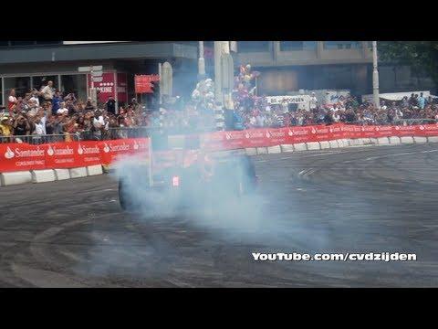 Ferrari F1 AMAZING Sound @ Bavaria City Racing 2011