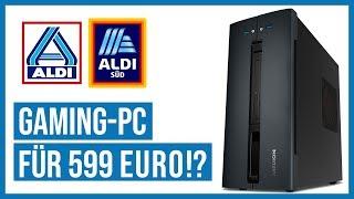 Aldi-Gaming-PC für 599 € - Taugt er zum ZOCKEN?   Medion Akoya P56005