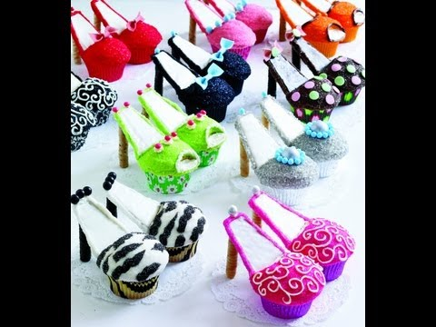 How to make high heels cupcakes (tutorial)