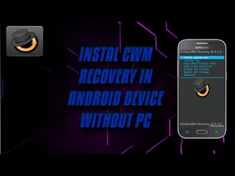 How to instal cwm recovery without pc  (SM-G360H)