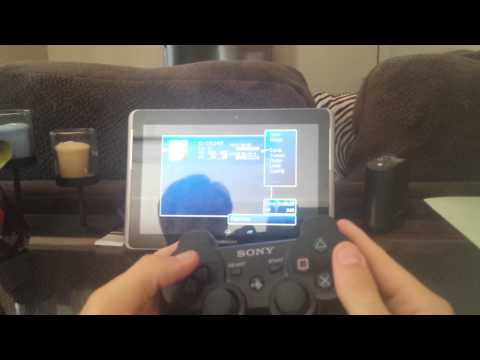 FF7 android emulator using a PS3 controller