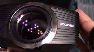 GooDee 1080p LED Projector Review!