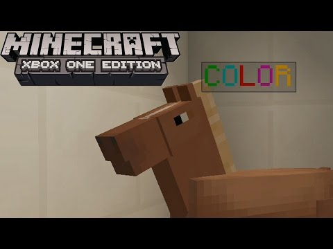 Minecraft: COLORED NAME TAGS! Tutorial (Xbox One Edition)
