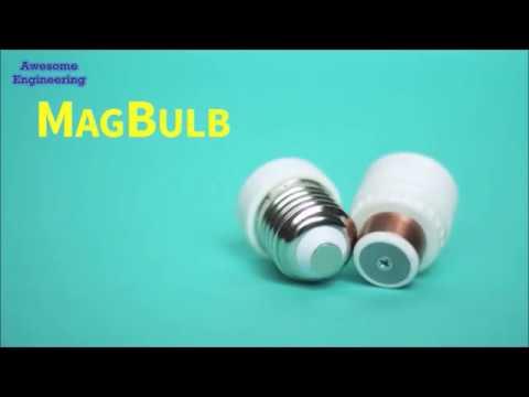 World's First Magnetic Lightbulb Socket !!!