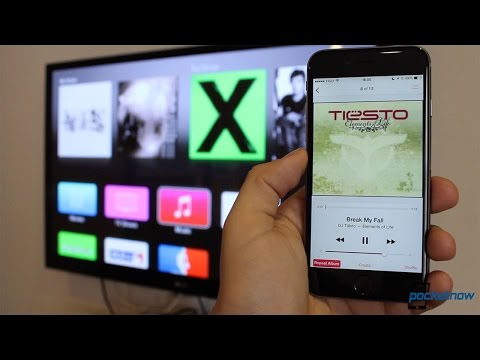 How to listen to music from your iPhone on your Apple TV (video)