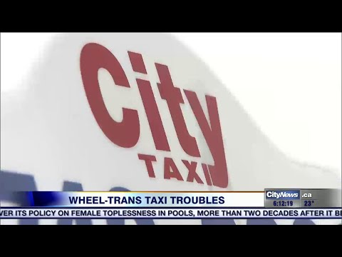 Toronto's wheelchair accessible taxis struggle to find business