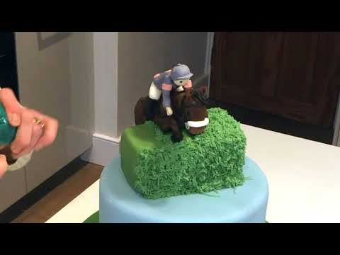 1-Minute Cakes: Horse Race
