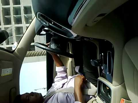 A tamil Guy drive a automatic gear car and giving some defination about the vehicle