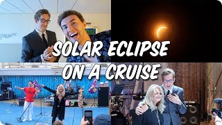 Total Solar Eclipse on a Cruise Ship with Bonnie Tyler!