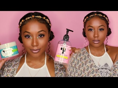 Easy and Cute Festival Inspired Hairstyle for Curly Hair ft. Camille Rose Naturals