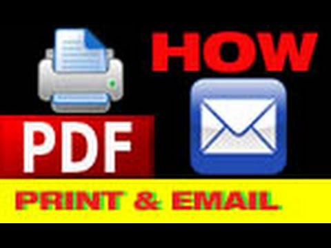How to add a Print and Email button in your PDF form - Beginners - Adobe Acrobat X by MrTutorX