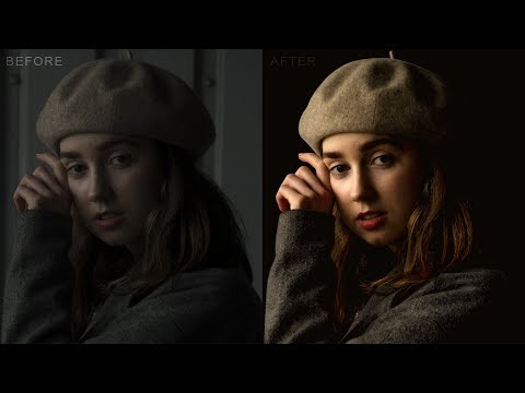 How to Change Bad Light Photos to Amazing Low key Portrait in Photoshop