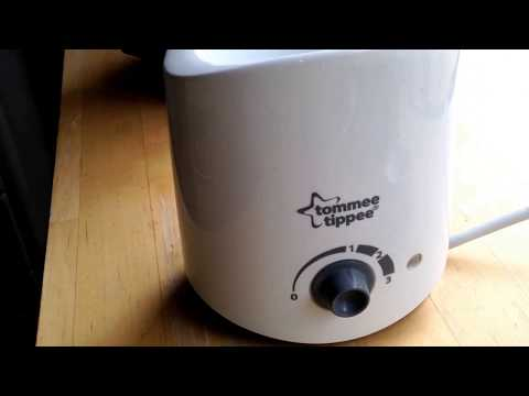 How to thaw or warm baby milk, breast milk or frozen food.  Tommee tippee review