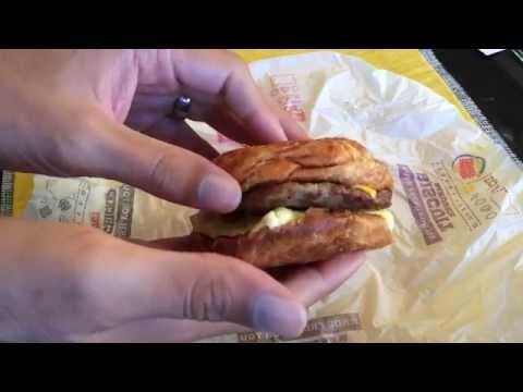 Viewer Request: Burger King's SAUSAGE, EGG & CHEESE CROISSAN'WICH Review