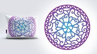 Mandala Design In Illustrator From Sketch To Vector