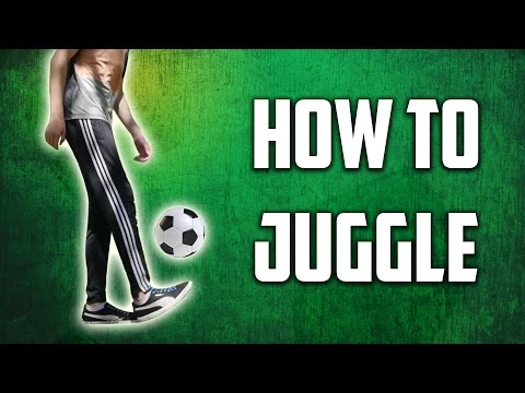 How To Juggle A Soccer Ball - Learn Juggling Easily!