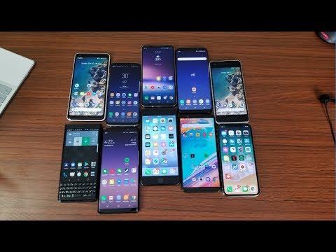My Top 5 Favorite Phones of 2017!