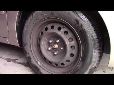 How to Replace Broken Lug Nut Studs -  Wheel bolt repair Toyota Corolla fix