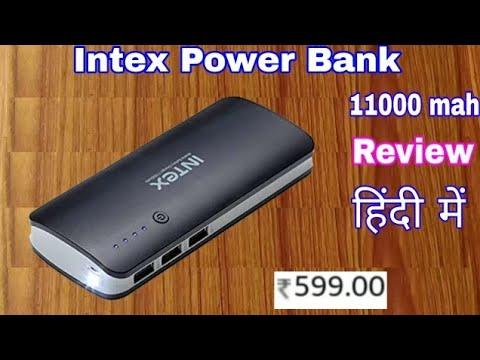 Intex power bank 11000 mah | intex IT-PB11K 11000MAH | intex 11000mah power bank review in hindi