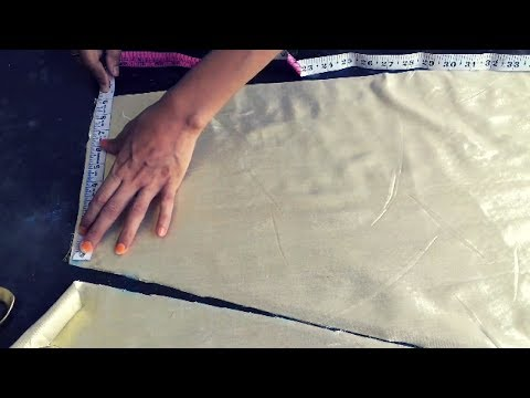 petticoat cutting and stitching in easy way in hindi