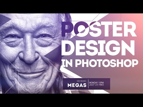 How To Create A Poster Design in Photoshop