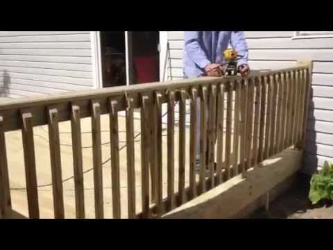 Router railing Decks of Westchester pcf inc 914-210-5926