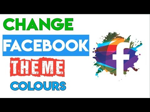 How To Change Facebook Theme Colour And Appearance | TechnoRelate