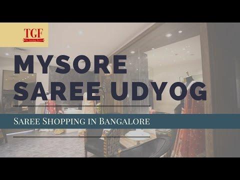 Saree Shopping in Bangalore - Mysore Saree Udyog | Authentic Silk Sarees