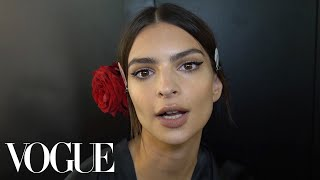 Emily Ratajkowski & Ashley Graham Go Inside Dolce & Gabbana's Spring 2019 Fashion Show | Vogue