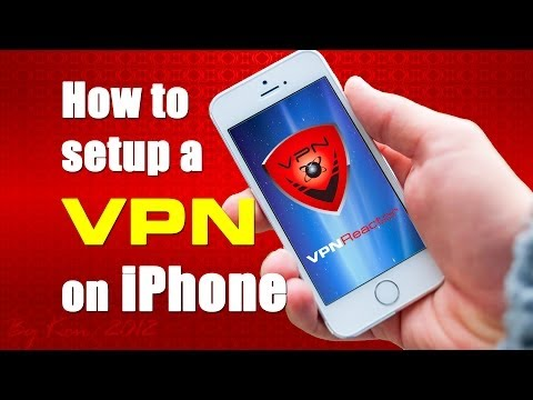 How to setup a VPN on iPhone IOS - L2TP / IPSec