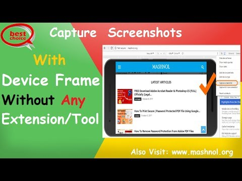 [Best Way] Capture Screenshots In Google Chrome Without Extensions [With Device Frame]