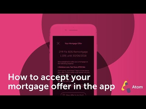 How do I accept my mortgage offer?
