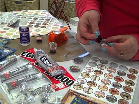 How-to: Make a Bottle Cap Magnet