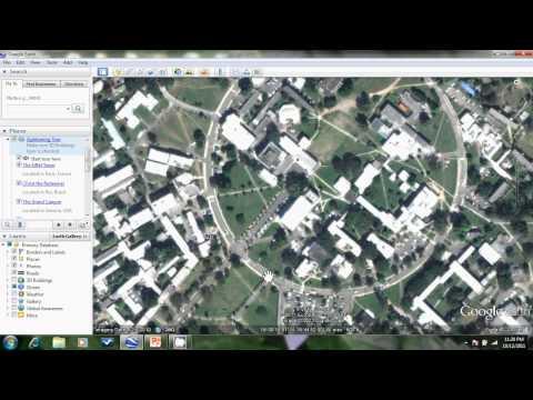 Manually entering GPS data in Google Earth