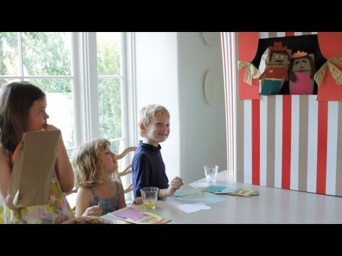 How to Create a Puppet Theater || KIN DIY