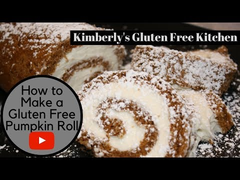 How to Make a Gluten Free Pumpkin Roll