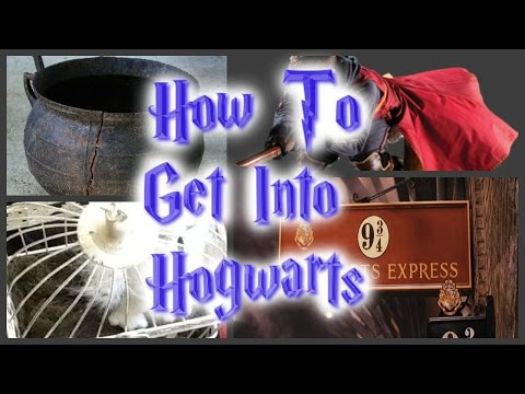 How To Get Into Hogwarts