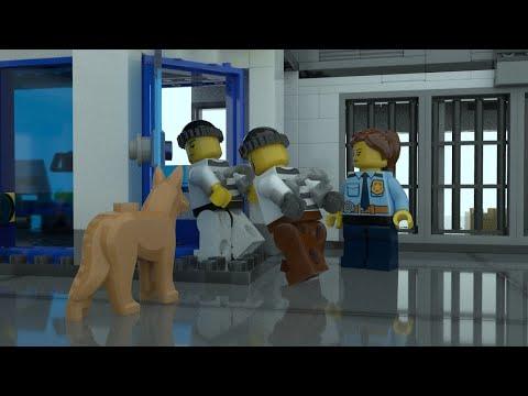 Lego City Police Station for Children, Kids! Lego Police Cartoon for Kids