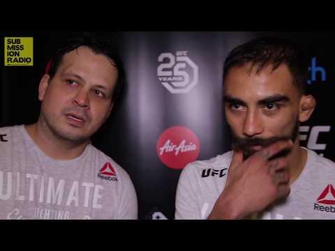 UFC 221: Jose Alberto Quiñones Discusses Win Over Teruto Ishihara