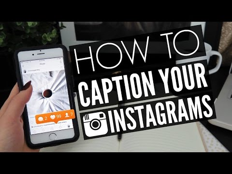 INSTAGRAM HOW TO: Write Photo Captions Ep. 5