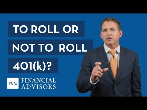 To Roll or Not to Roll Your 401k