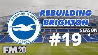 Rebuilding Brighton FM20 l #19 l On Camera Curse! l Football Manager 2020
