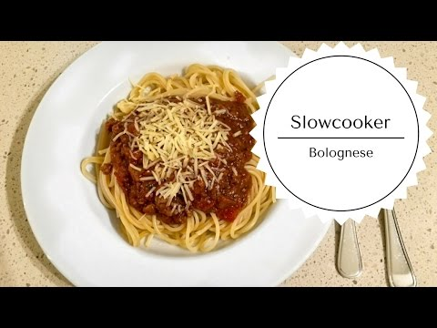 Slow Cooker Bolognese - Recipe