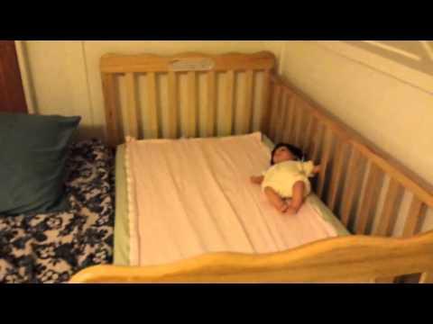 SIDECAR CRIB CO SLEEPING W TODDLER