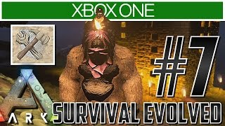 Ark Xbox One Gameplay!! Ep 8 - TAKING ON AN ALPHA CARNO