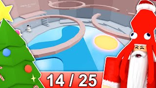 [14/25] CHRISTMAS STAGES in Tower of Hell... | Roblox