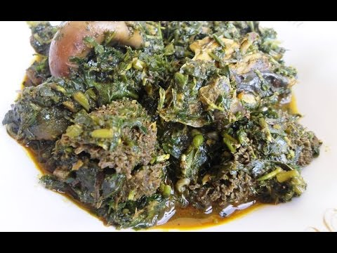Afang Soup... How To Make Afang Soup in Nigeria