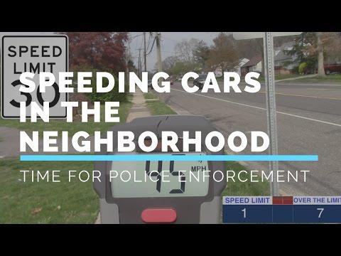 Cars Speeding In The Neighborhood North Babylon Long Island | Suffolk County