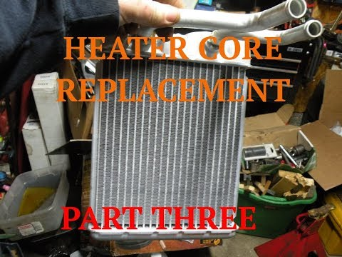 Part 3 - Heater Core Replacement - 98 Chevy Blazer